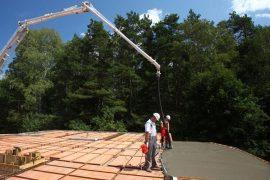 beton towarowy - budowa jednorodzinna