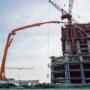 Rekordowa wysokość pompy do betonu