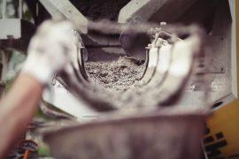 podawanie betonu
